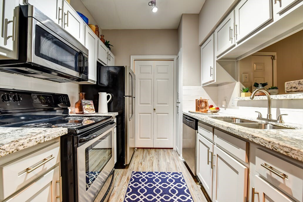Kitchen interior at Eagle Crest